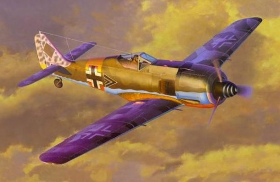 Mistercraft Fw-190A-6 Grun Hertz makett