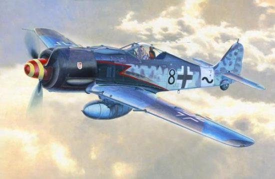 Mistercraft Fw-190A8R8 Sturmbock makett