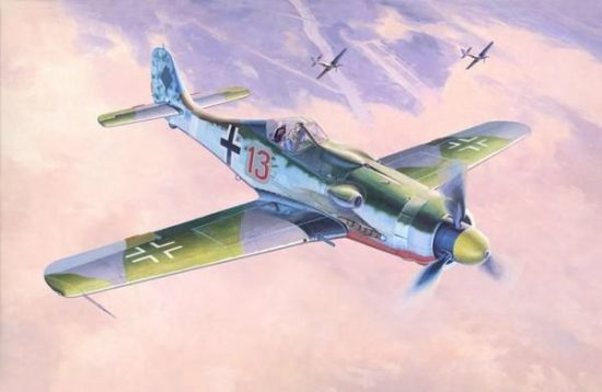 Mistercraft Fw-190 D-9 Papagein Staffel makett