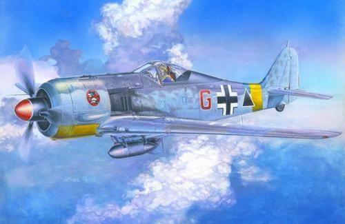 Mistercraft Fw-190F-2 Schlachtflugzeuge makett
