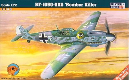 Mistercraft BF-109G-6R6 Bomber Killer makett