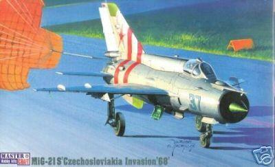 Mistercraft MIG-21S Czechoslovakia Invasion 68 makett