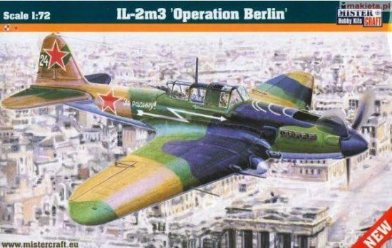 Mistercraft IL-2m3 Operation Berlin makett