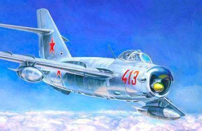 Mistercraft MiG-17 PF Radar Fresco makett