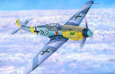 Mistercraft BF-109F-4 Hahn makett
