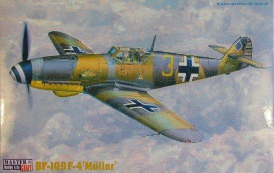 Mistercraft BF-109F-4 Müller makett