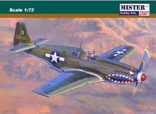 Mistercraft P-51B-1 Bull Frog makett