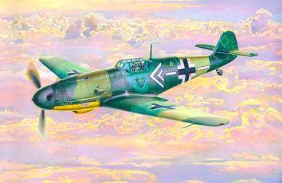 Mistercraft BF-109G-2 Gotz makett