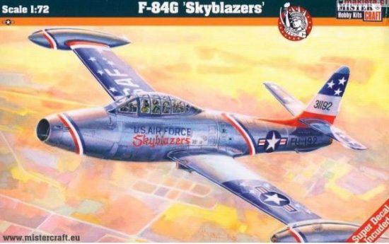 Mistercraft F-84G Skyblazers makett