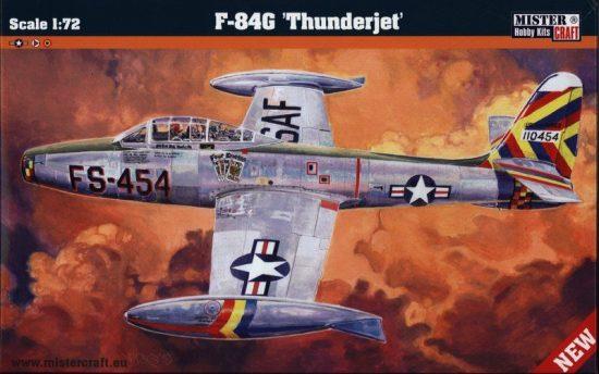 Mistercraft F-84G Thunderjet makett