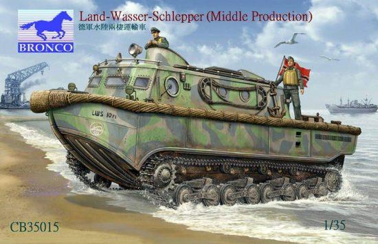 Bronco Landwasserschlepper (Middle Production) makett