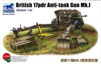Bronco British 17pdr Anti-tank gun Mk.I makett