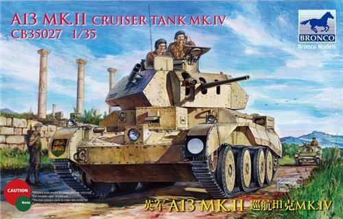 Bronco A13 Mk.II Cruiser Tank Mk.IV makett