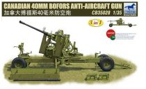 Bronco Canadian 40mm Bofors Anti-Aircraft Gun makett