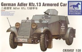 Bronco German Adler Kfz.13 Armoured Car