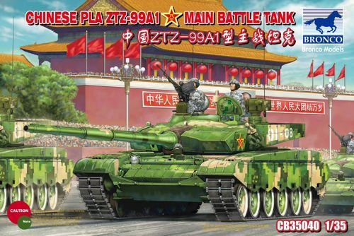 Bronco Chinese ZTZ-99A1 MBT makett