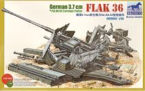 Bronco German 3.7cm Flak 36 makett