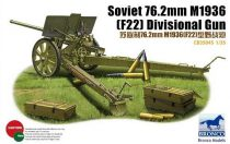 Bronco Russian 76.2mm M1936 (F22) Divisional Gun makett