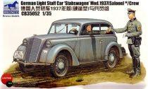 Bronco German Light Staff Car 'Stabswagen' Model 1937 makett