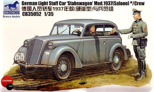 Bronco German Light Staff Car 'Stabswagen' Model 1937