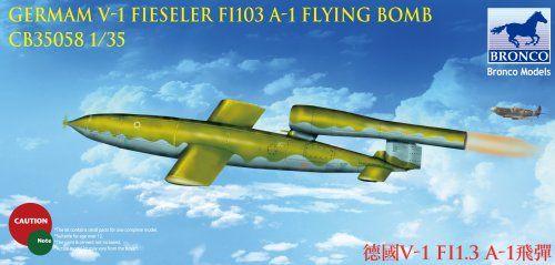 Bronco Fieseler V-1 Fi 103 A-1 Flying Bomb makett