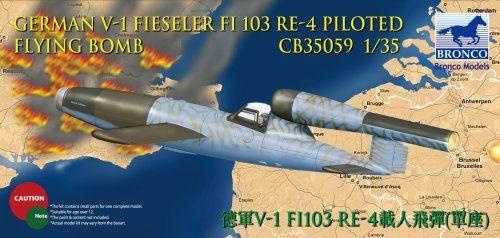 Bronco Fieseler V-1 Fi 103 Re4 makett