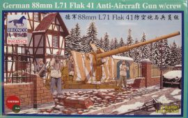 Bronco German 88mm Flak 41 Anti-Aircraft Gun with Crew