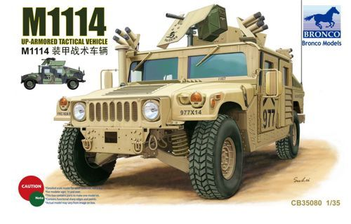 Bronco M1114 Up-Armored Tactical Vehicle makett