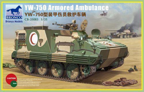 Bronco YW-750 Armored Ambulance Vehicle makett