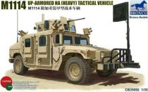 Bronco M1114 Up-Armoured HA(heavy)Tactical Vehicle makett