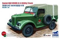 Bronco Russian GAZ-69(M) 4x4 Utility Truck makett