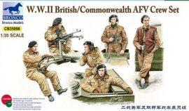 Bronco British/Commonwealth AFV Crew set