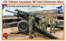Bronco U.S. 155mm Howitzer M114A1 (Vietnam War) makett
