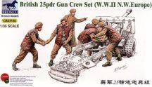 Bronco British 25pdr Gun Crew Set (Europe)
