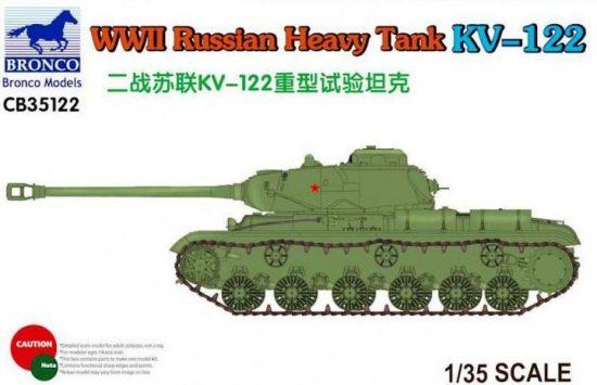 Bronco Russian Heavy Tank KV-122 makett