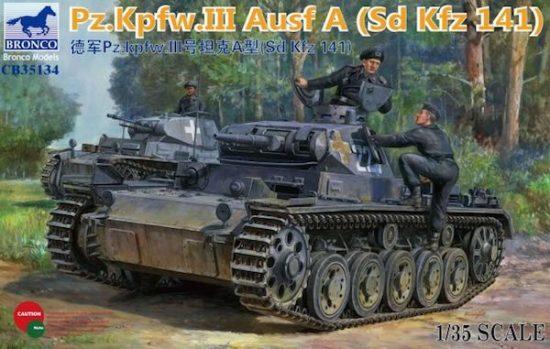 Bronco Pz.Kpfw.III Ausf.A (Sd.Kfz.141)