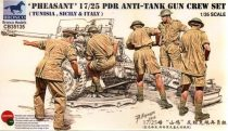 Bronco British 17pdr / 25 Pdr Anti-tank Gun Crew Set