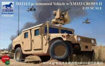 Bronco M1114 Up-Armoured Vehicle w/XM153 CROWS II makett
