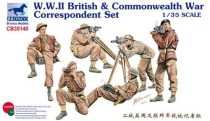 Bronco WWII British & Commonwealth War Correspondent Set