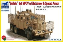 Bronco Buffalo 6x6 MPCV with Slat Armour & Spaced Armour makett