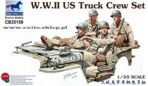 Bronco WWII US Truck Crew Set