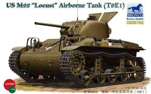 """Bronco US M22 """"Locust"""" Airborne Tank (T9E1) makett"""
