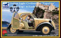 Bronco Italian Light Civilian Car (Open Top) makett