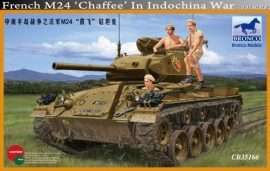 Bronco M24 Chaffee French in Indochina