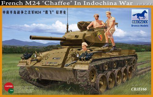 Bronco M24 Chaffee French in Indochina makett