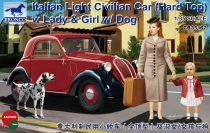 Bronco Italian Light Civilian Car (Hard Top) makett