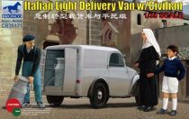 Bronco Italian Light Delivery Van with Civilian makett