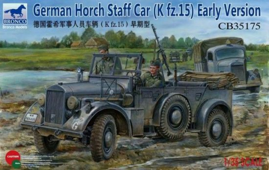 Bronco German Horch Staff Car (Kfz.15) Early