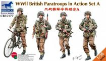 Bronco WWII British Paratroops in Action Set A