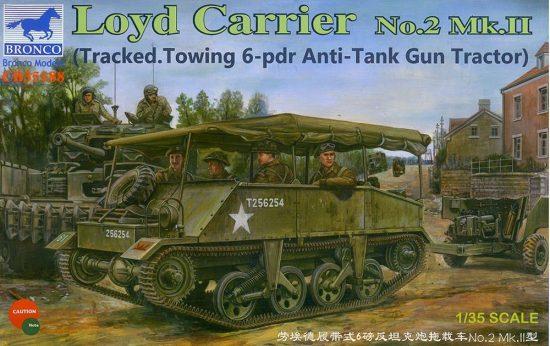 Bronco Loyd Carrier No.2 Mk.II makett